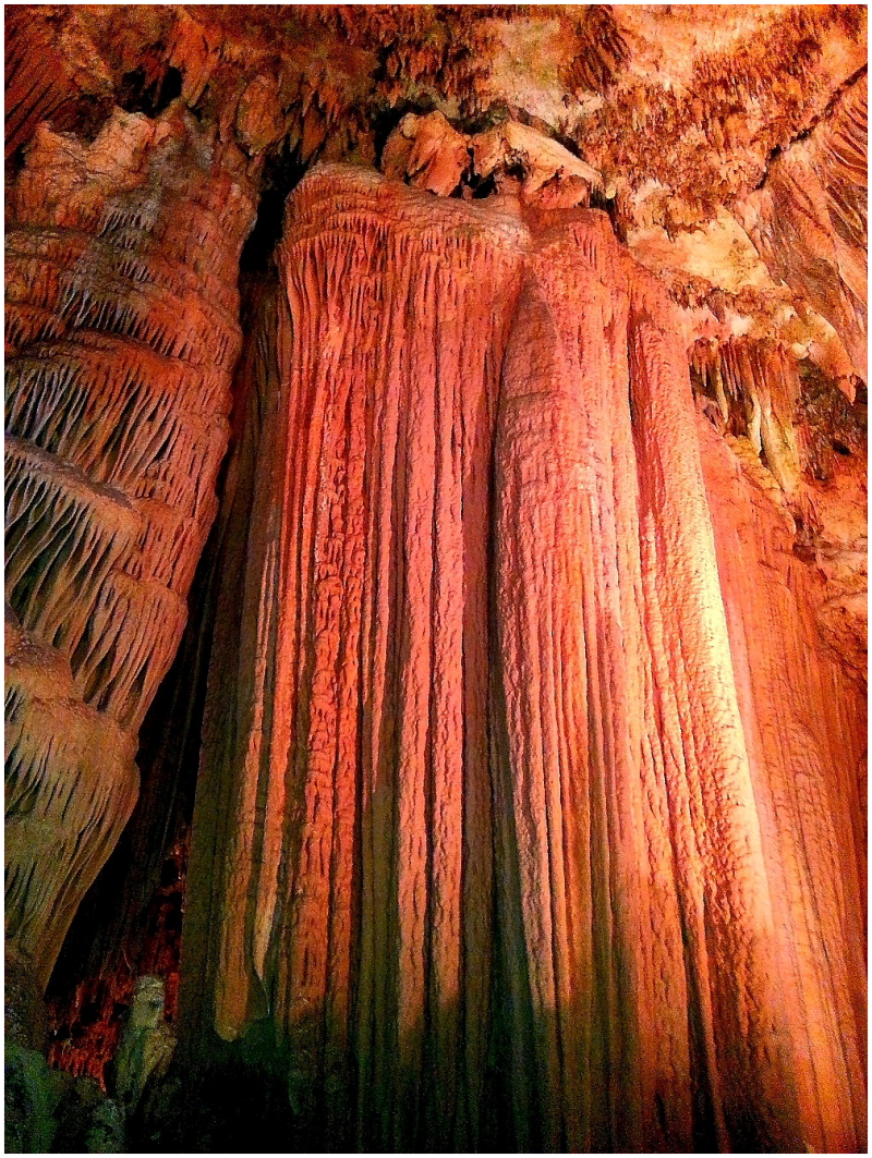 caverns....