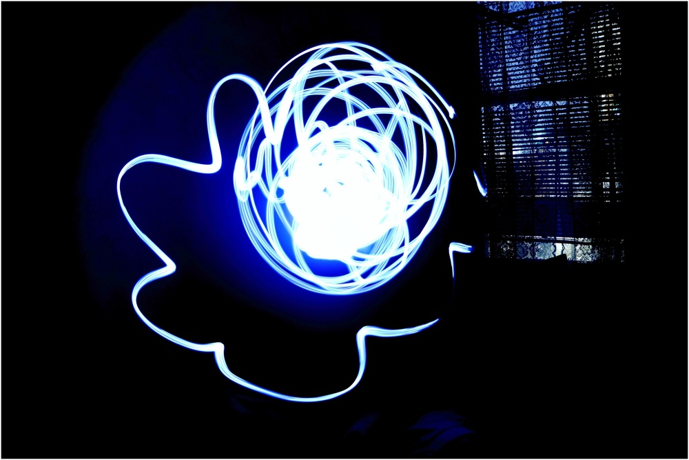 Light Abstract Painting.