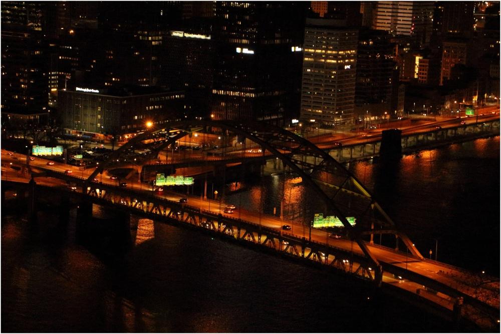 Beautiful Pittsburgh Downtown view