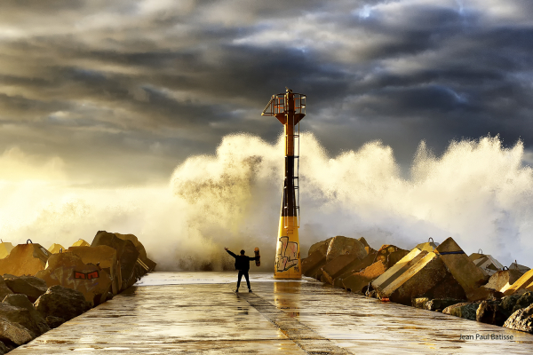 Briser la vague…