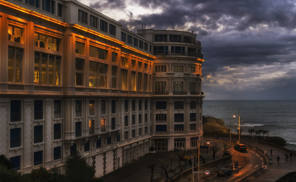 Un soir à Biarritz