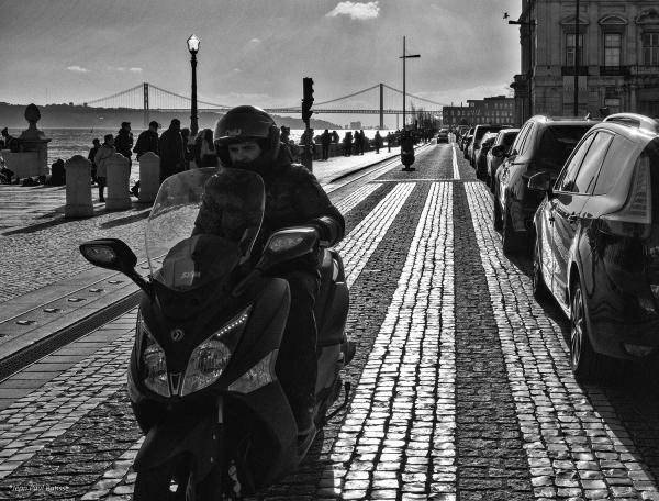 Fin d'après-midi à Lisbonne