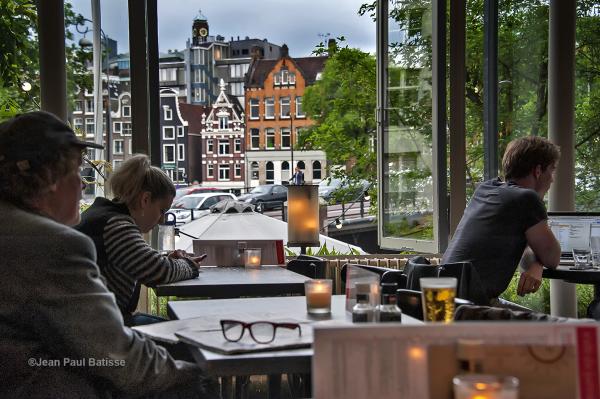 Fin d'après-midi à Amsterdam