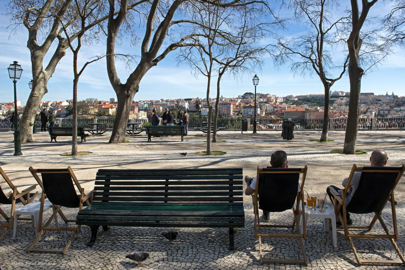Hiver à Lisbonne