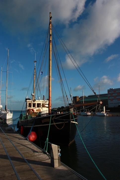 bateaux , port, Cherbourg
