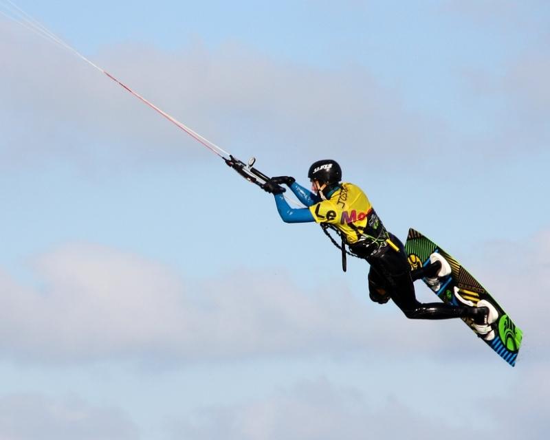 Le kitesurfeur