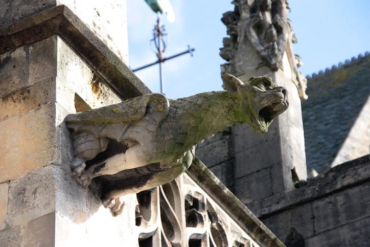 Gargouille (Basilique Sainte-Trinité)