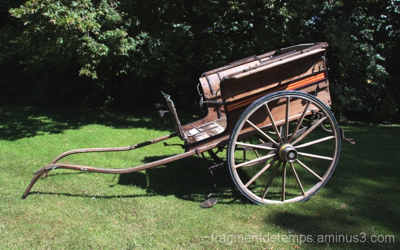 Charrette , véhicule de nos campagnes