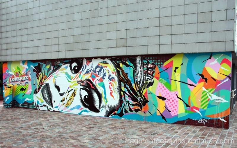 """""""Pop graffiti"""" de Jo Di Bona"""