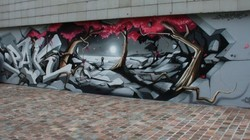 Le mur CHERBOURG // PAKONE