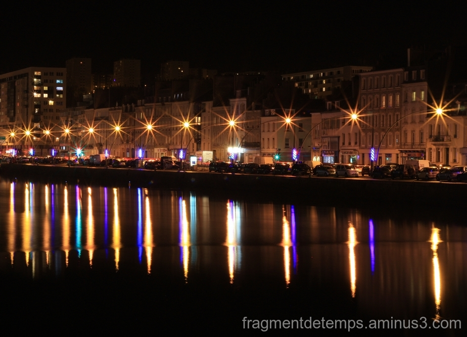 Cherbourg by night ~~~ 2