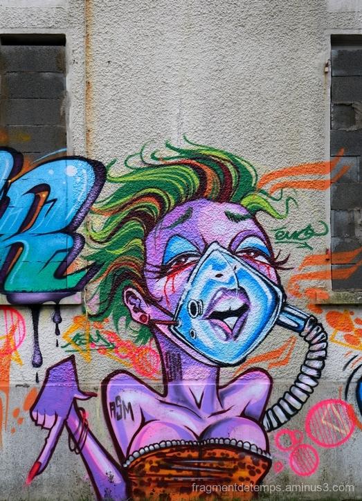 Graffiti, Cité coloniale~2