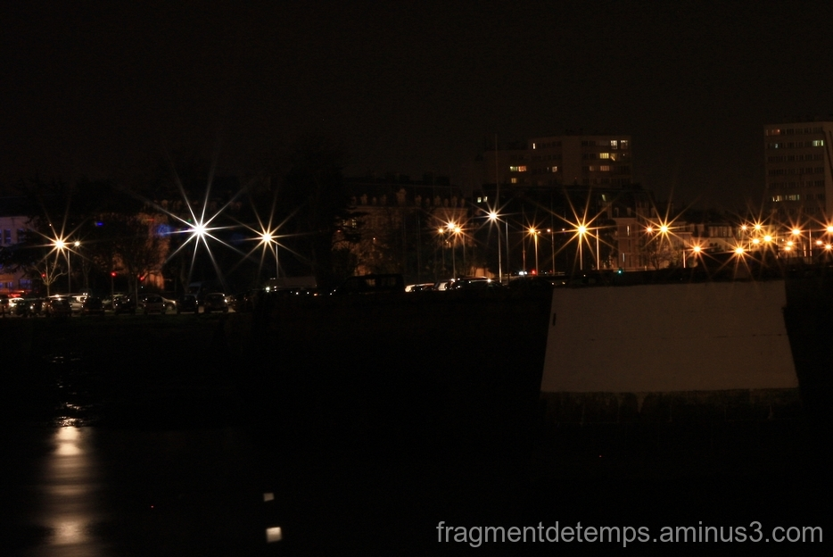 Cherbourg By Night