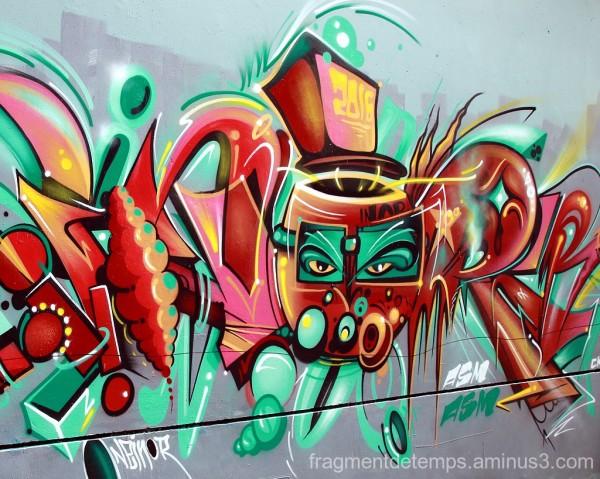 Graffiti, Stade Maurice Postaire ~ 7