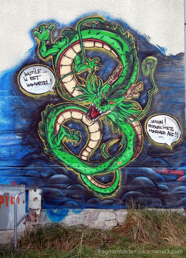 Graffiti Cité Coloniale #6