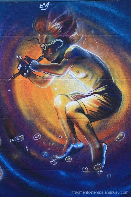 Graffiti MJC la brèche