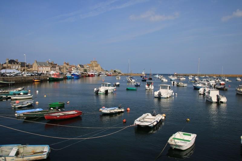 Barfleur, village de pêcheurs.