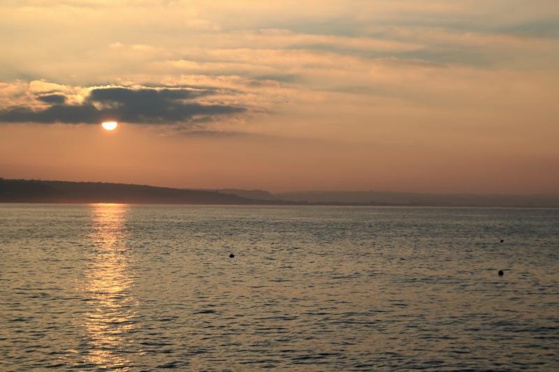 Coucher de soleil vu du Cap Lévi