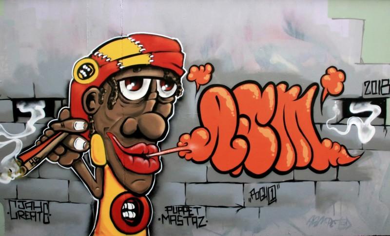 Rasta _ Graffiti # 48