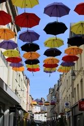 Un ciel couvert...de parapluies à Cherbourg #2
