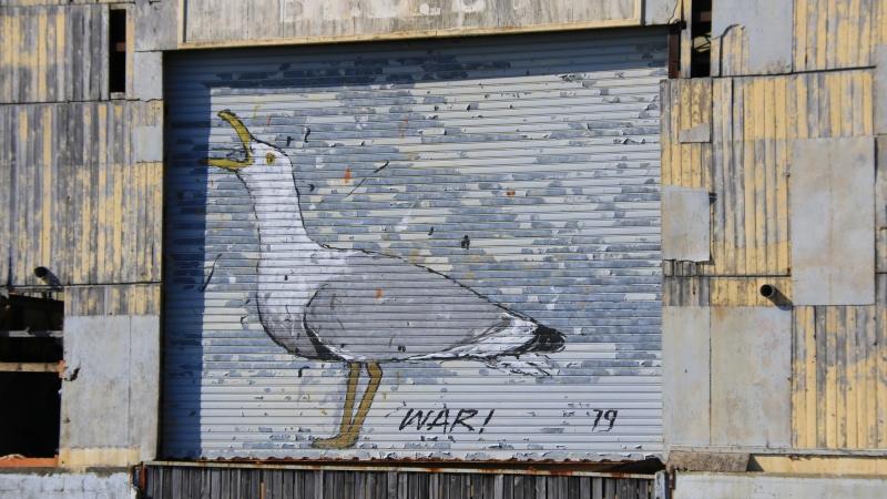 Graffiti artiste War !