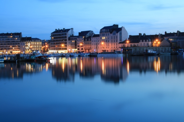 Cherbourg by night # 14