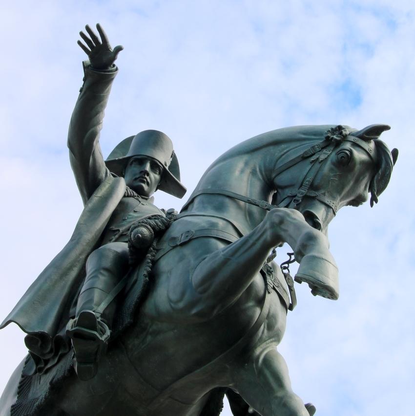 La statue équestre de Napoléon