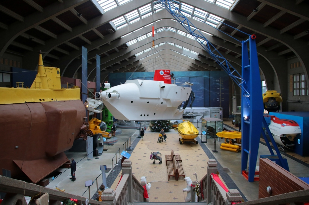 Hall des sous-marins