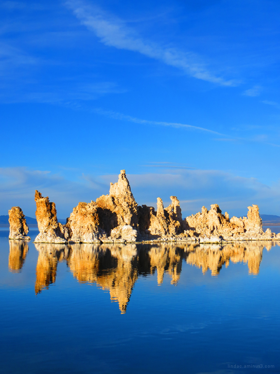Sunset at Mono Lake, South Tufa Reflection