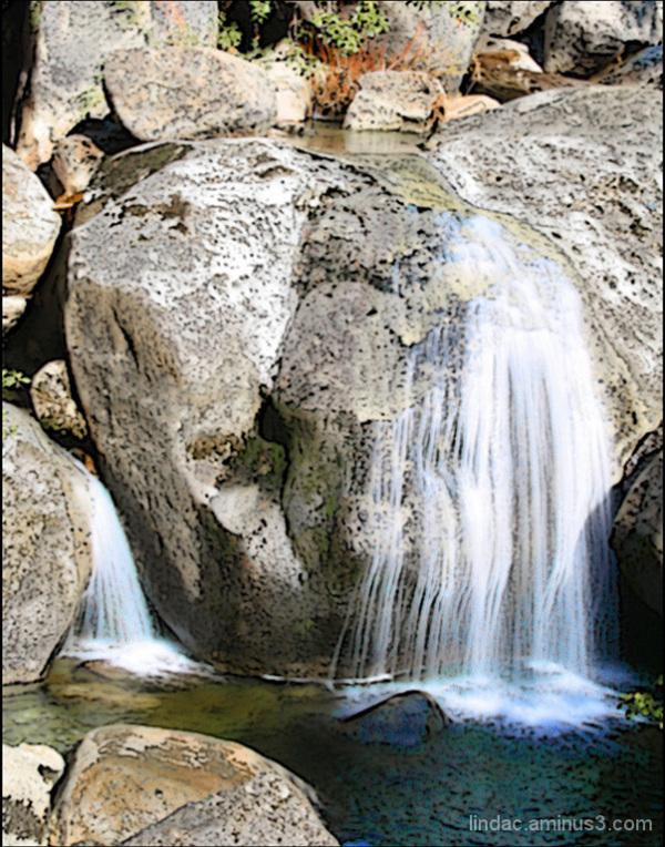 Cascade Falls, Big Oak Flat Road, Yosemite