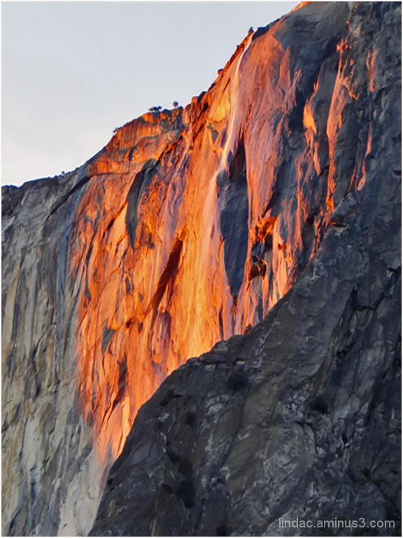 Horsetail Falls Feb. 11, 2014