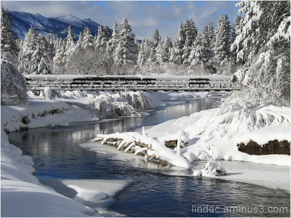 Snow Bridge, South Lake Tahoe