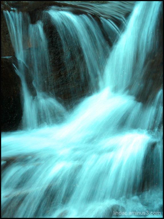 Majestic Blue Falls