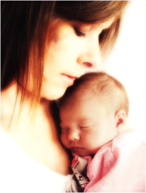 Andrea & Baby Ashlyn