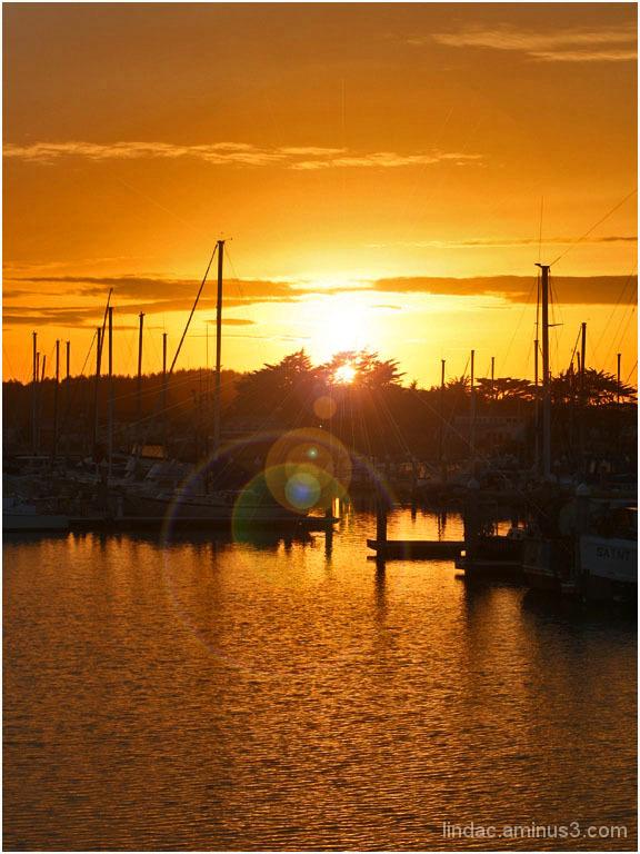 SunFlares Half Moon Bay Crab Boats 2