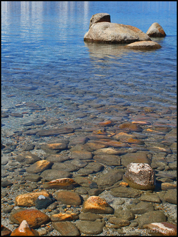 Rocky Coast of Tahoe