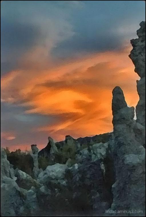 Sunset at Mono Lake