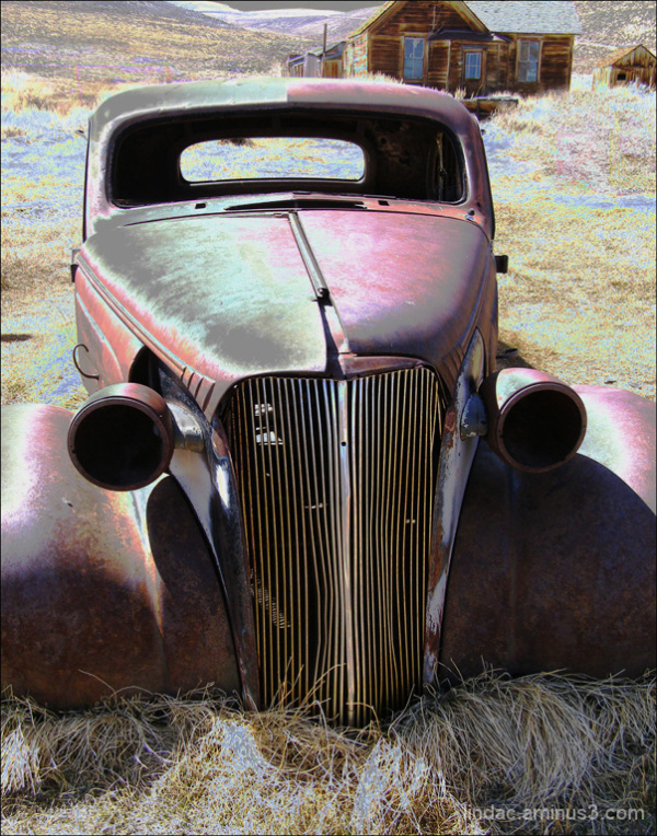 Rusted Car, Bodie