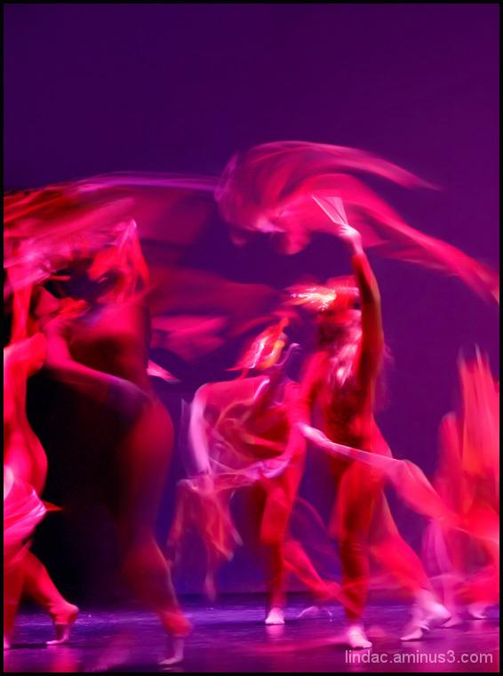 Ballet Fire Dancers #2