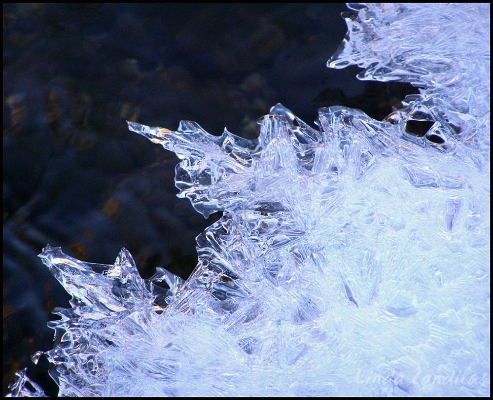 Ice Crystals 2, Merced River, Yosemite