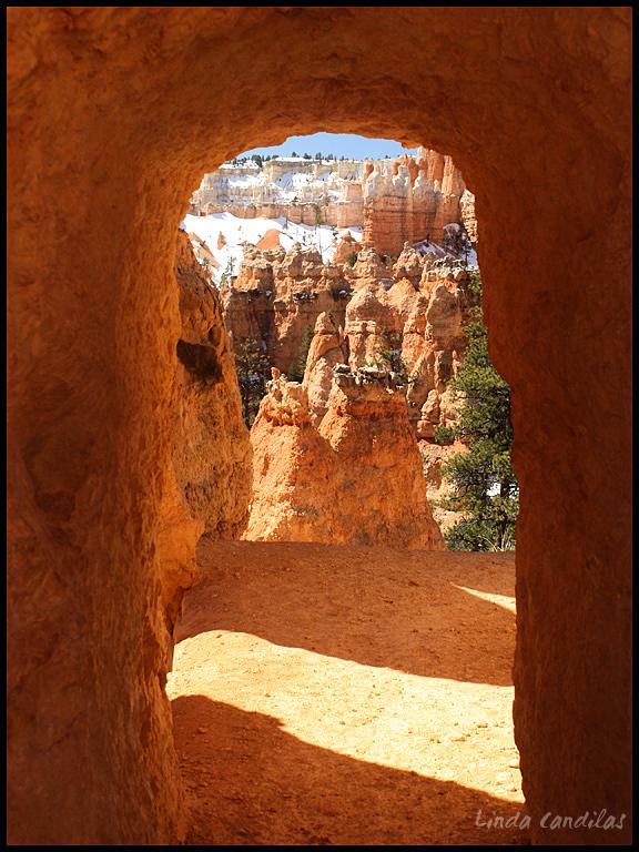 Doorway Through The Canyon, Bryce