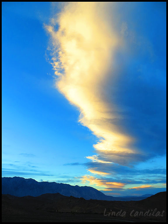 Clouds Over Owens Valley, Bishop