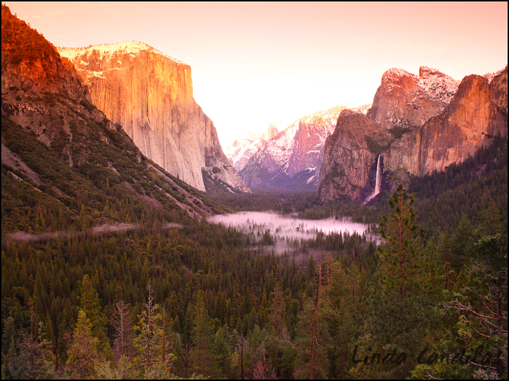 Tunnel View Sunset, Yosemite