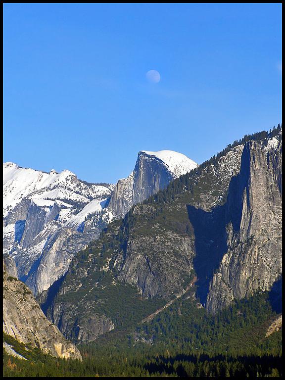 View of Yosemite Valley