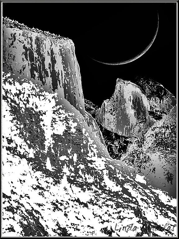 Half Dome & El Capitan