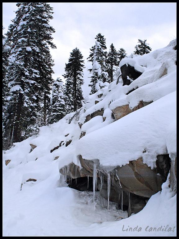 Yosemite Ice and Snow
