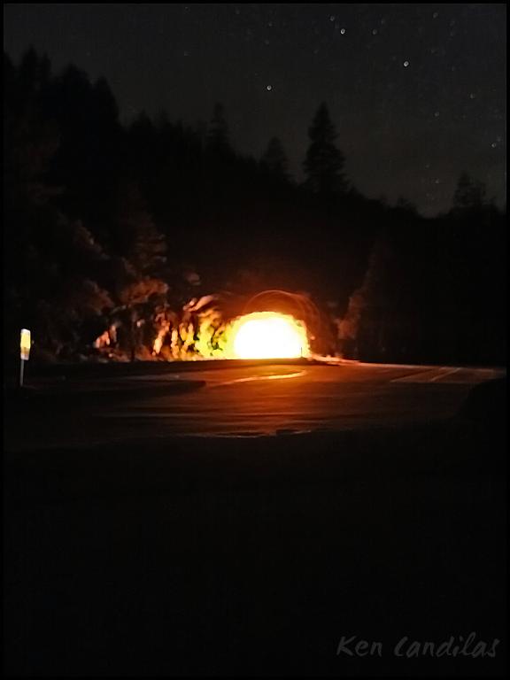 Yosemite Tunnel View Night