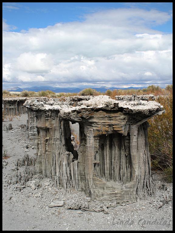 Sandcastles Mono Lake