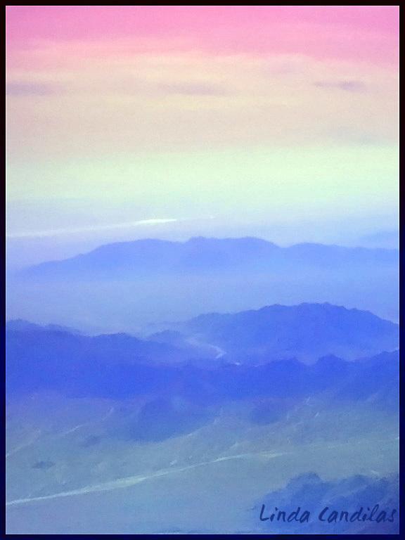 Flying over Orange Co. Hills