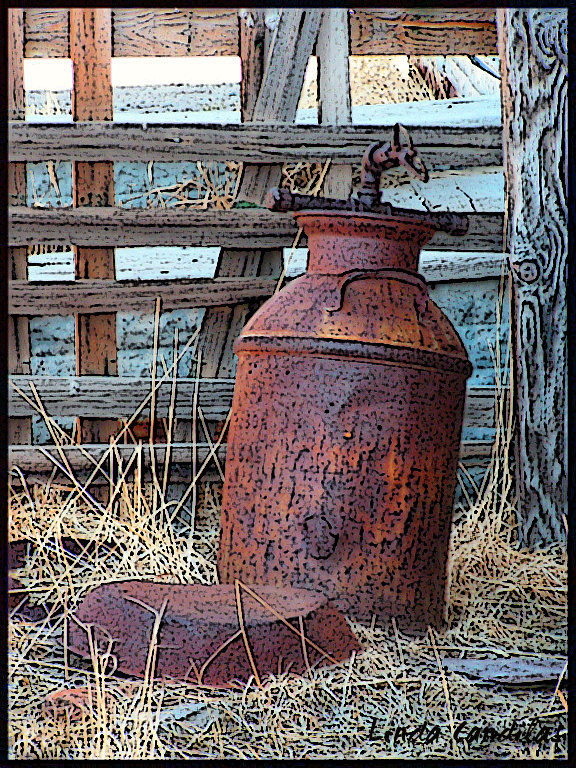 Bodie Milk Can